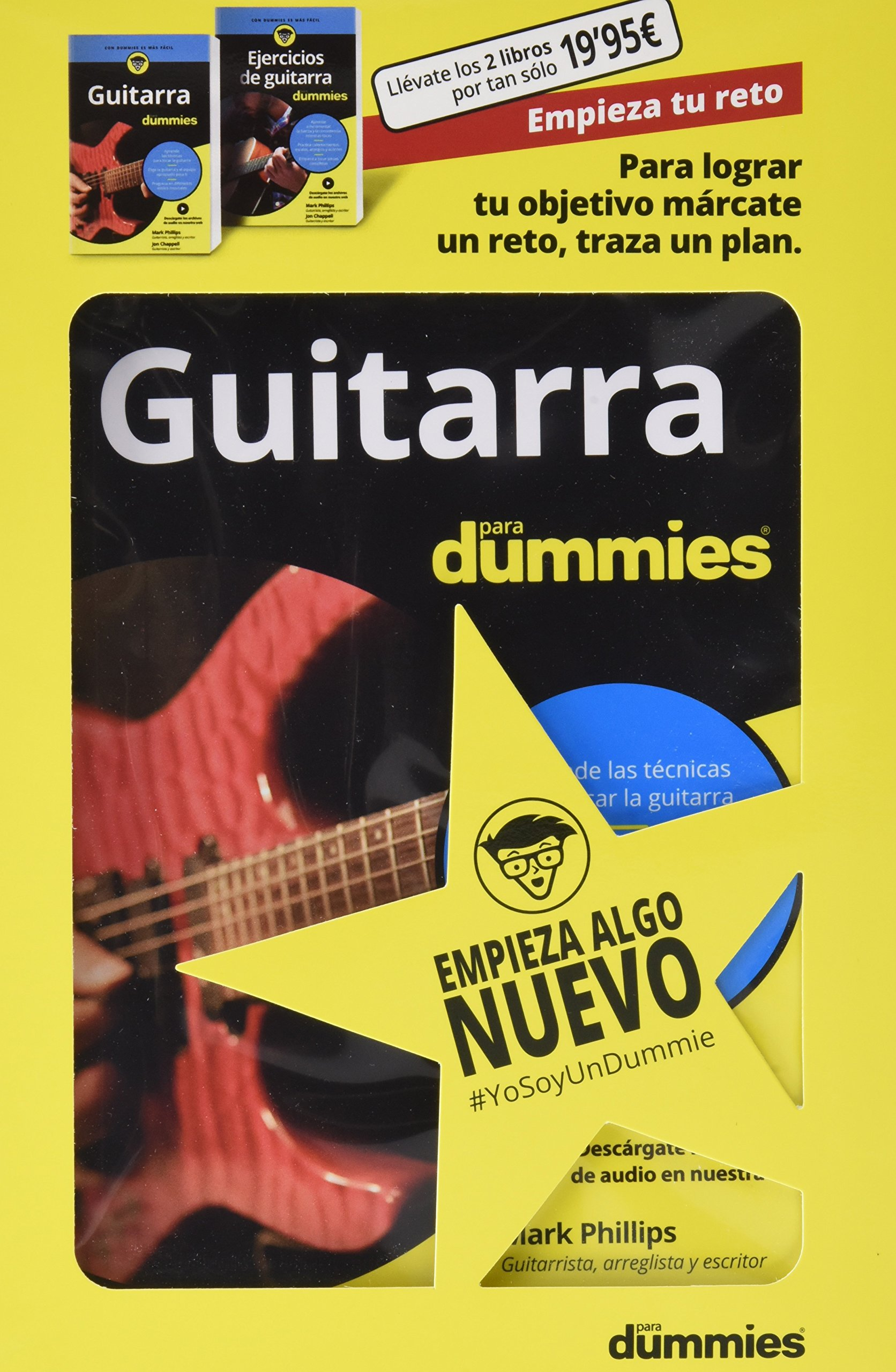 Pack Guitarra para Dummies #EmpiezaTuReto: Amazon.es: Varios ...
