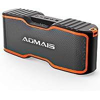 Aomais 2018 Upgrade AOMAIS Sport II+ Bluetooth Speakers (Orange)
