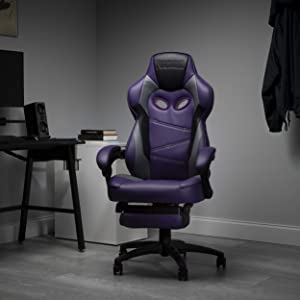 Fortnite RAVEN-Xi Gaming Chair, RESPAWN by OFM Reclining Ergonomic Chair with Footrest (RAVEN-02)