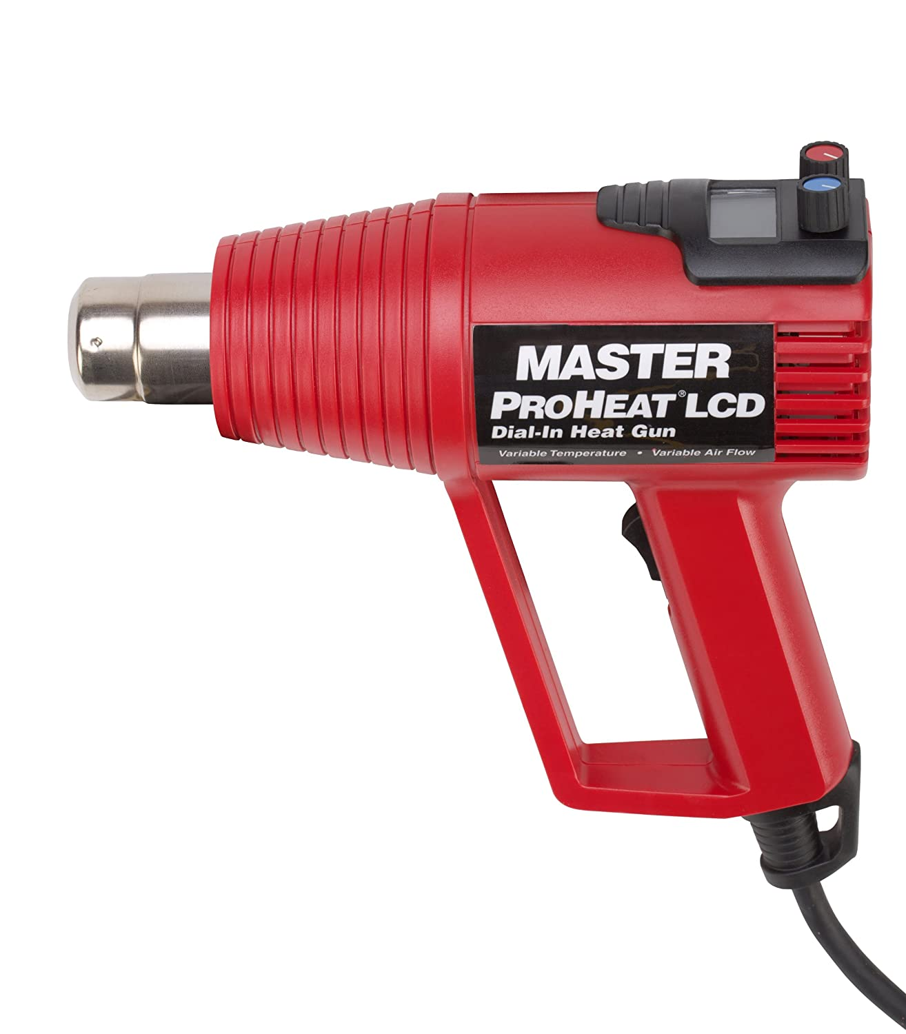 Master Appliance PH-1400 LCD Display Proheat Professional Heat Gun, Variable Temp and Variable Airflow, Lightweight, 120V, Assembled in the USA