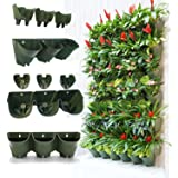 3PACKS Worth Self Watering Vertical Garden Planter£¬Greening Wall Flowerpot£¬Hanging Plant Pots with 3pcs pockets and 3pcs Filter layers