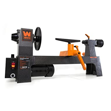 WEN 3420T 8 in. x 12 in. Variable Speed Benchtop Mini Wood Lathe