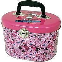 Deals on The Tin Box Company L.O.L. Surprise! Oval Tote Storage Tin