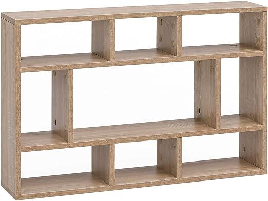 Estantería de pared Sonoma de roble, 75 x 51 x 16 cm, de ...
