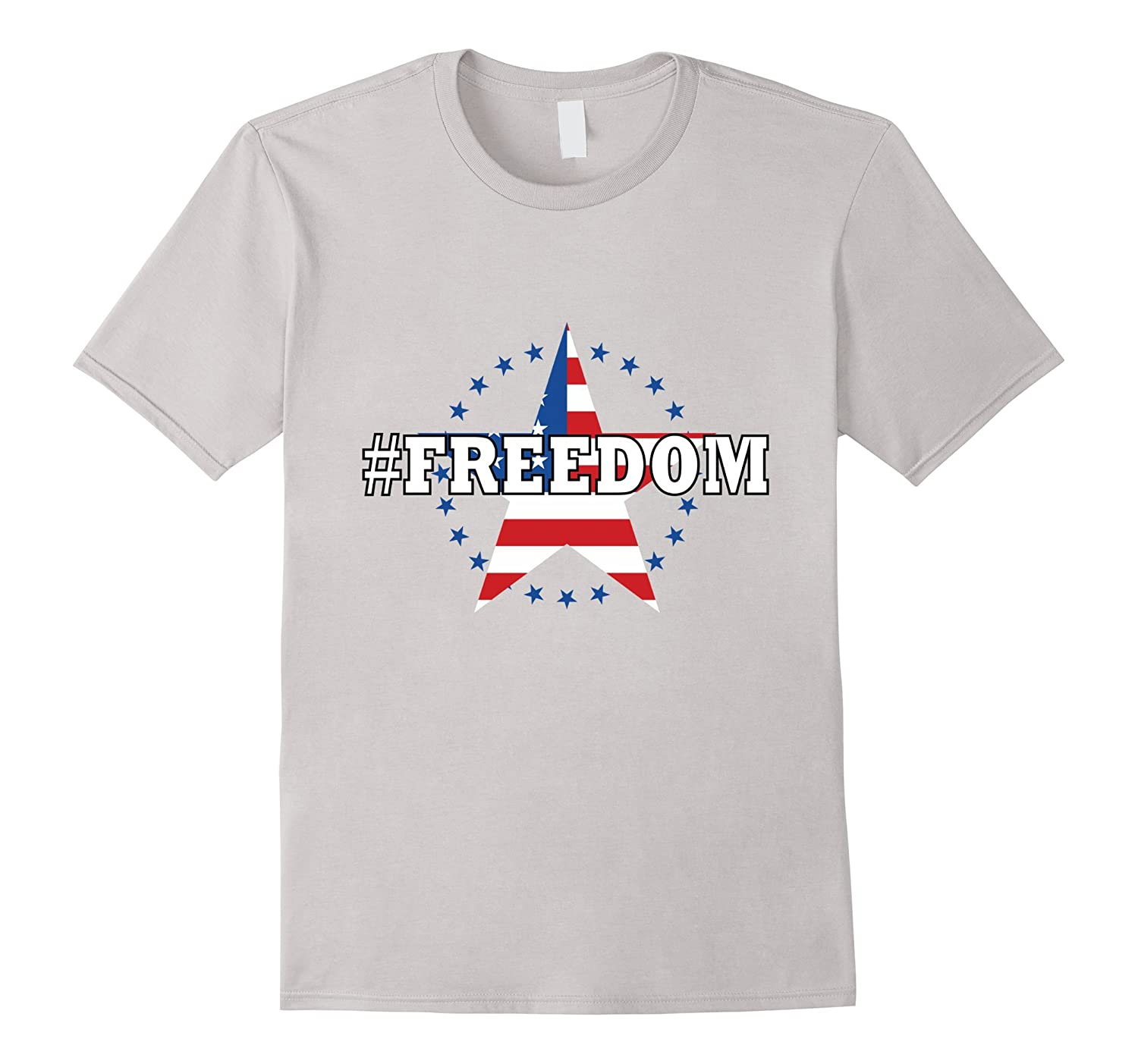 Memorial Day #freedom T-Shirt Stars And Stripes