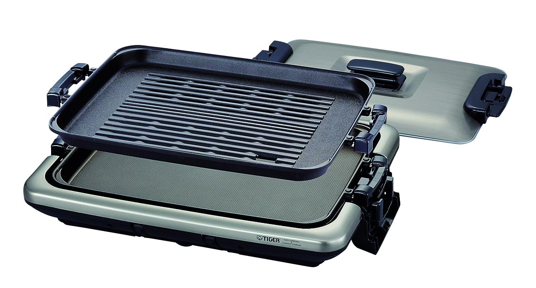 タイガー ホットプレート 平面 焼肉 プレート 2枚 タイプ 蓋付き モウいちまい CRV-B200-TH Tiger   B016VT8CEO