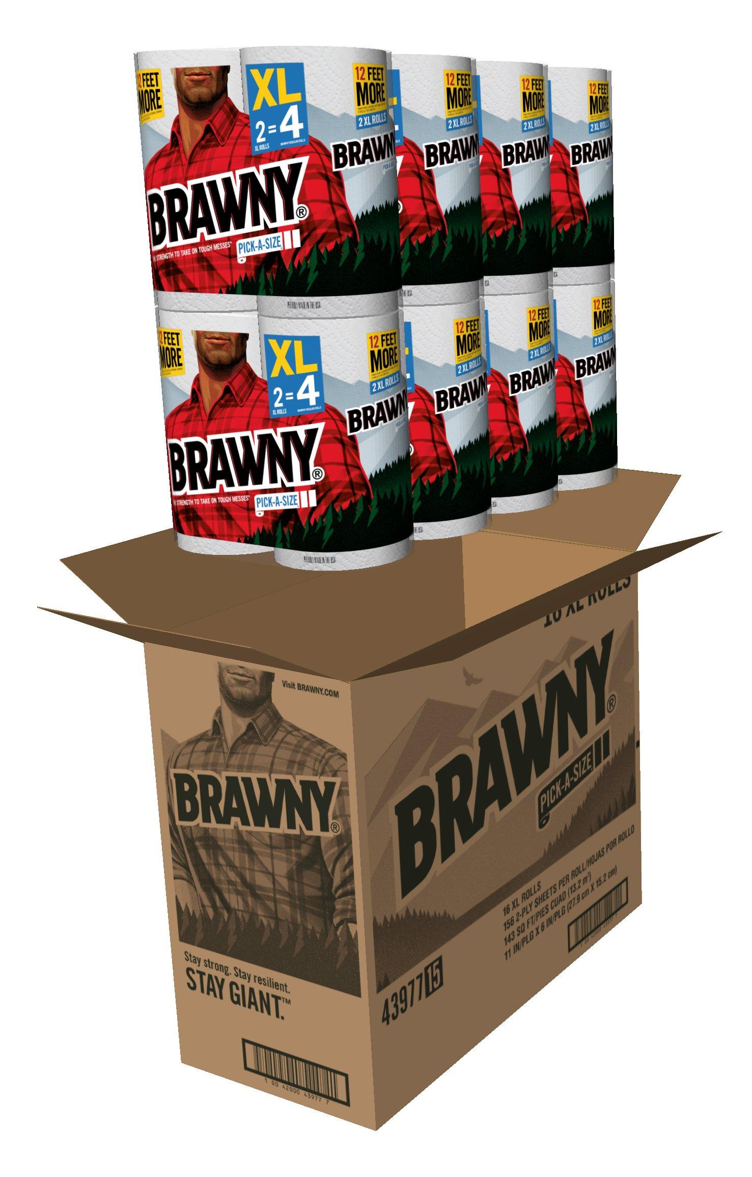 Brawny Pick-a-Size Paper Towels, 16XL Rolls by Brawny (Image #2)