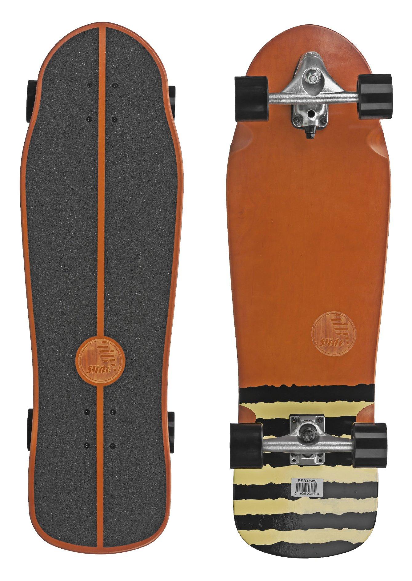 SLIDE Street Surf Skateboard White Sox 33''