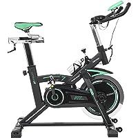Cecotec Bicicleta de Spinning Extreme 25. 25kg Volante inercia. Profesional. Pulsómetro. Pantalla LCD. Resistencia variable. Estabilizadores. SilenceFit.