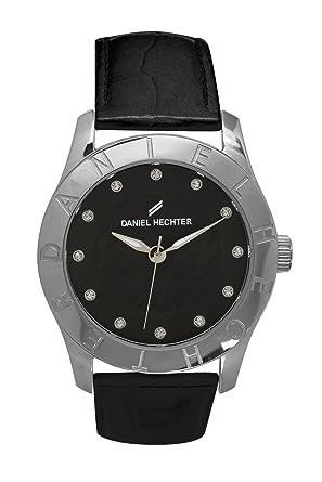 new style 29a6b a7a21 Daniel Hechter Damen-Armbanduhr Analog Quarz Leder DHD 004 ...