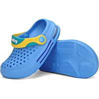 SAGUARO Unisex Zuecos para Niños Antideslizante Sandalias Niña Zapatillas Verano