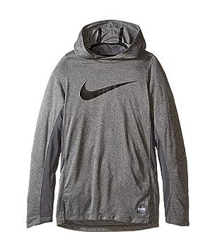Nike B Nk Dry Hoodie Elite Shtr - Sudadera para niño, Color Gris, Talla M: Amazon.es: Deportes y aire libre