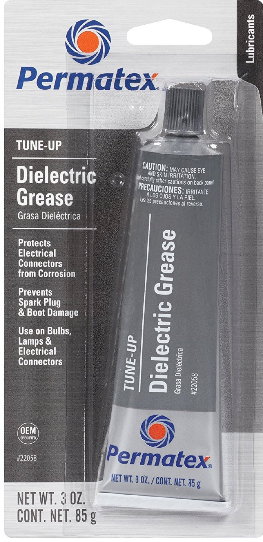 Permatex Inc 22058 6 Pack 3 oz. Dielectric Tune-Up Grease