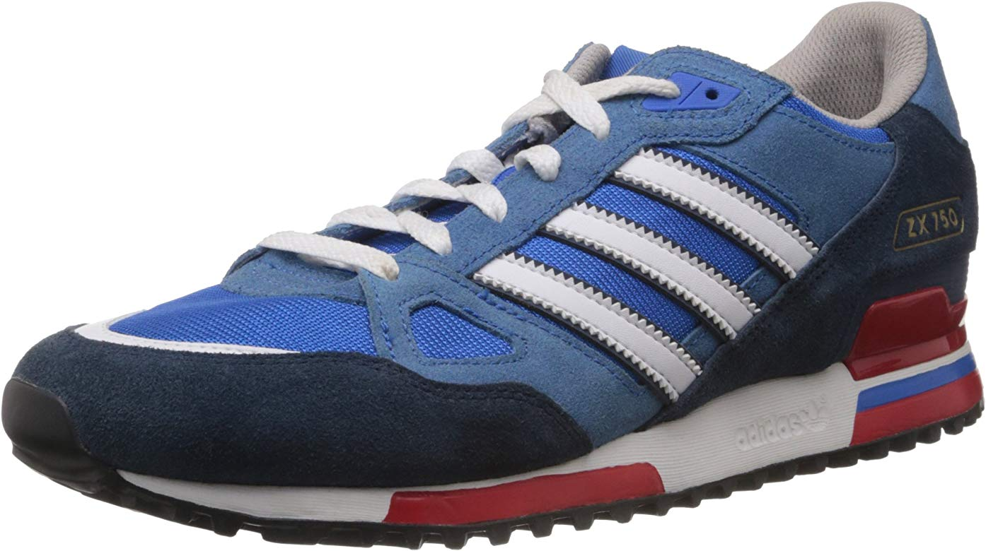 adidas originals mens zx 750 trainers bluebird/white/dark slate