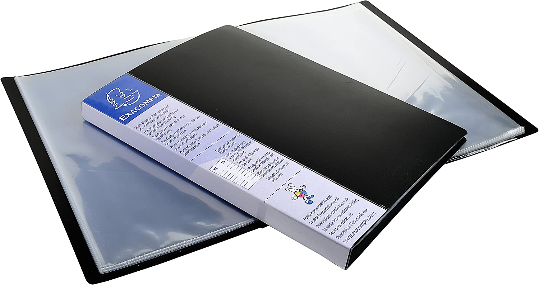2/anelli dorso: 80/mm colore: bordeaux Exacompta PP A4/Trend Colours/ /Raccoglitore ad anelli scatola