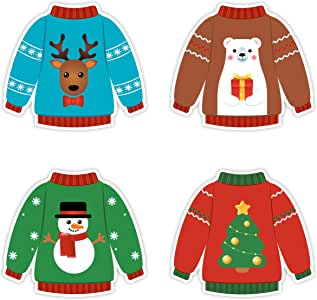 Amazon.com: Ugly Sweater Cutouts - Christmas Party ...