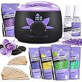 Waxing Kit Wax Warmer -EASY TO USE Digital Display 47 Items - Hair Removal Wax