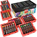 60-Pack Arteza Gouache Paint Set