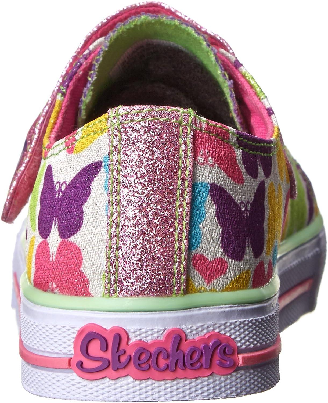 Skechers Kids 10408N Shuffles Light-Up Sneaker