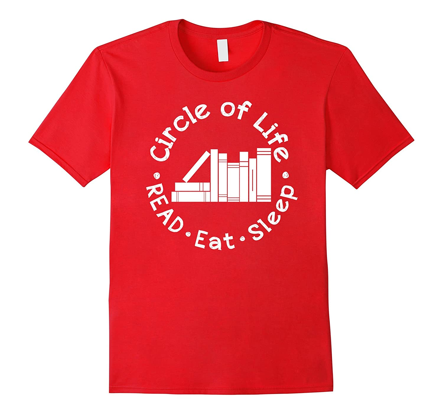 Circle of Life Read Books T-Shirt for Book Lovers-Art