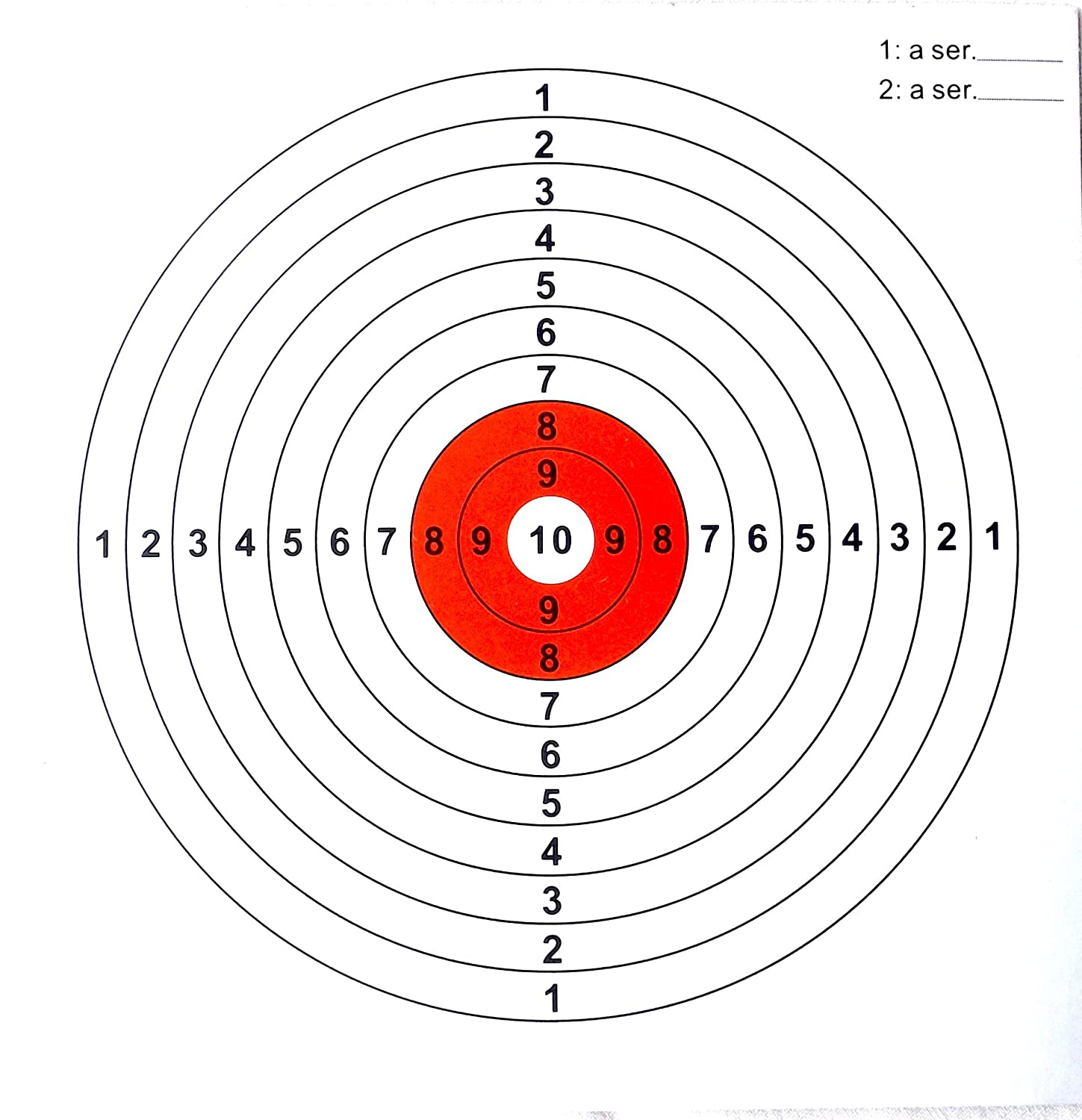image regarding Turkey Shoot Targets Printable identified as Air Rifle ambitions toward in good shape 5.5 inch (140mm) Pellet Lure 100