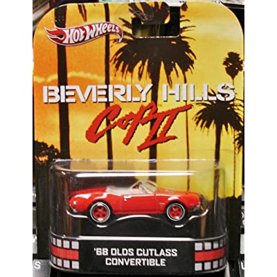 Hot Wheels 2013 Retro Entertainment Beverly Hills - 1968 Olds Cutlass Convertible: Toys & Games