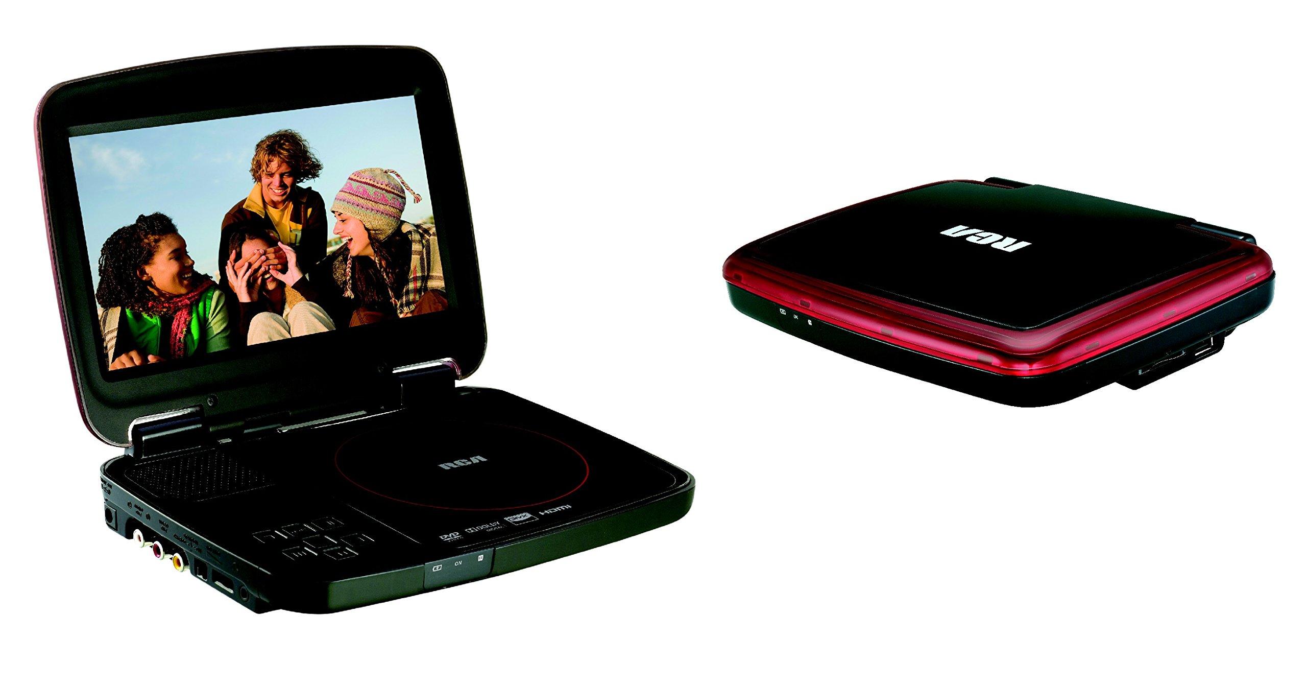 RCA (DRC99380U) 8'' Portable Multimedia CD/DVD Player - USB Flash and SD Card Slot (DivX-Video Certified)