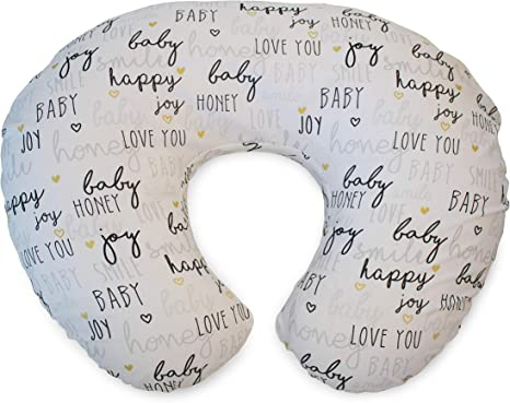 Chicco Boppy Cotton Baby Nursing Breastfeeding Pillow Support Circles