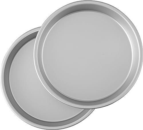 9-calowe okrągłe patelnie do ciastek Wilton Performance Aluminum Pan
