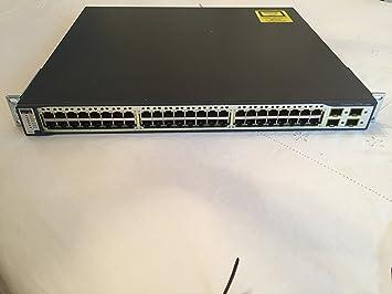 Cisco WS-C3750-24TS-S 10//100 Catalyst SMI 24 Port Switch by Cisco
