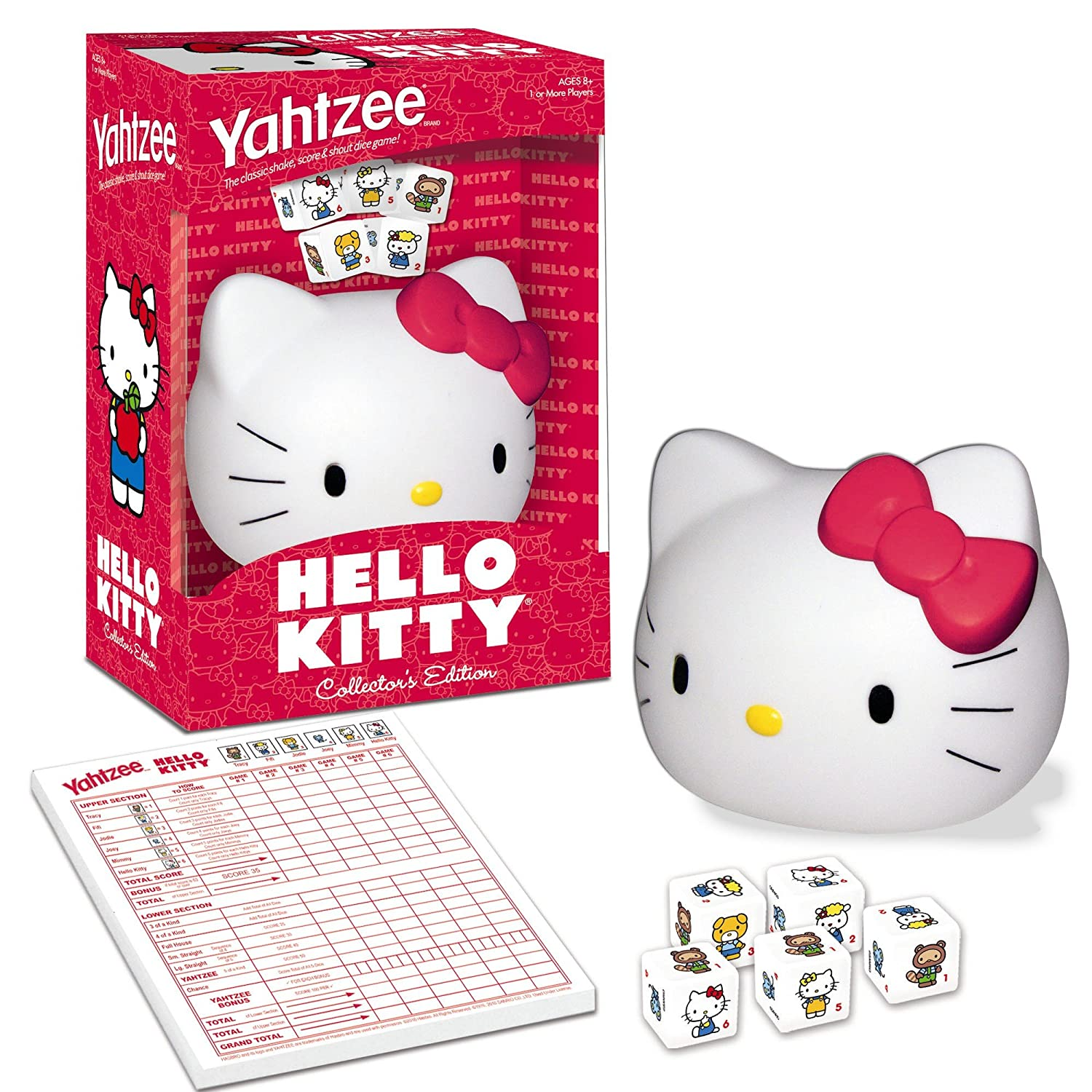ba7d470ef Amazon.com: Yahtzee Hello Kitty: Toys & Games