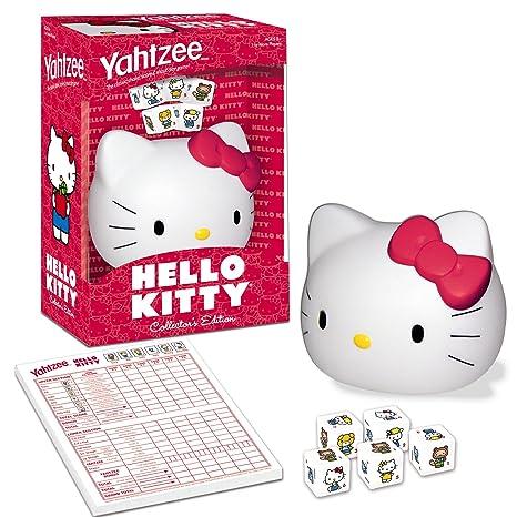 9b7ac193e Amazon.com: Yahtzee Hello Kitty: Toys & Games