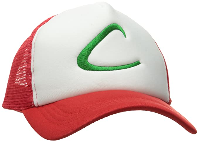 a51213e780f Generic Pokemon Ash Ketchum Baseball Snapback Cap Trainer Hat for Adult  Embroidered
