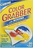 カーボナー カラーグラバー 洗濯用衣類色移り防止シート 30枚入