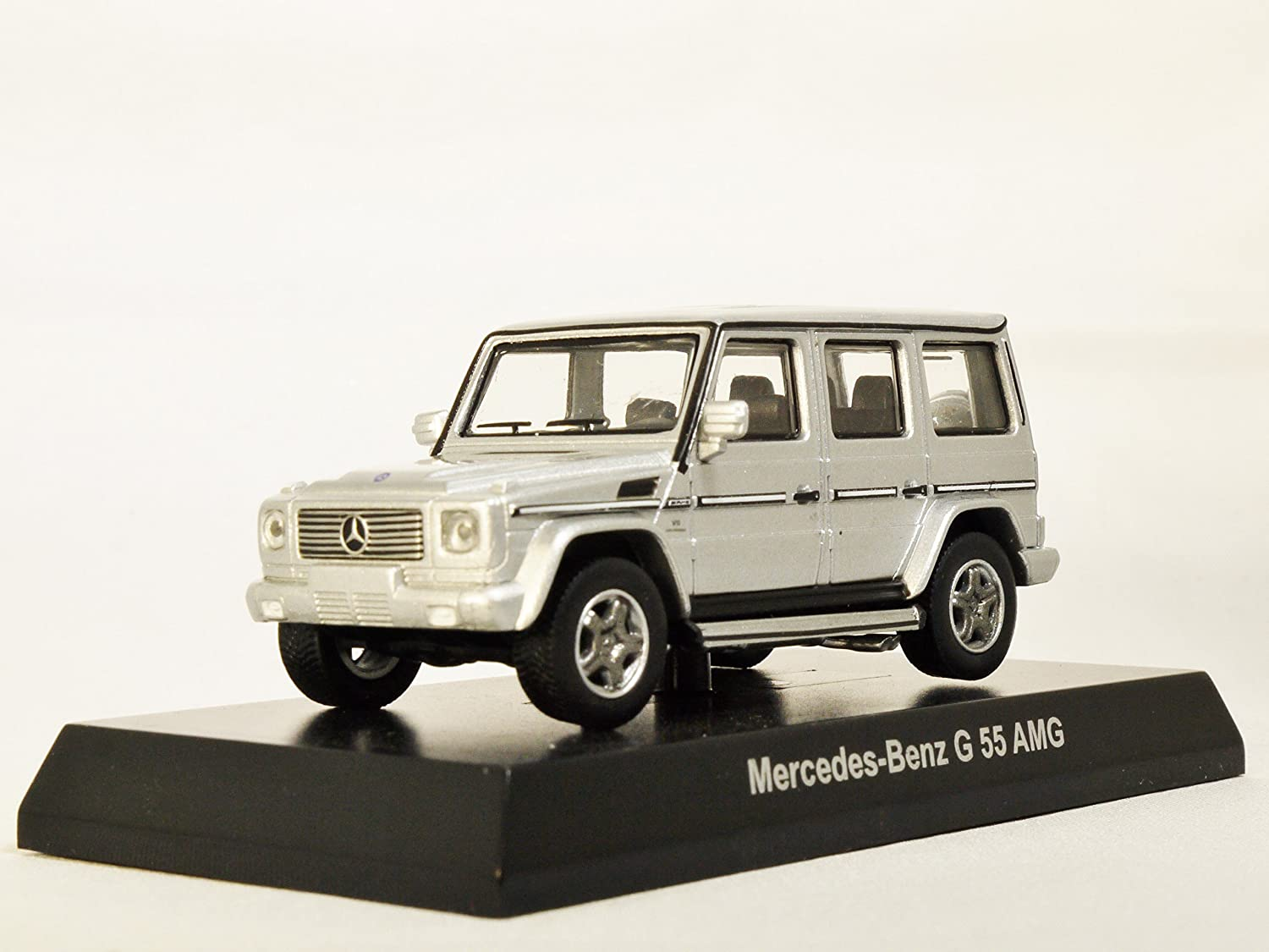 Buy Original Kyosho 1 64 Mercedes Benz Amg G Class Wagen Suv 55 Silver Japan Import Mini Diecast Car Figure Online At Low Prices In India