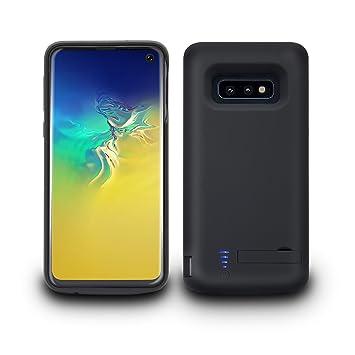 Fey-EU Funda Batería para Galaxy S10e, 5000mAh Funda Cargador Portatil Batería Externa Ultra Carcasa Batería Recargable Power Bank Case para Samsung ...