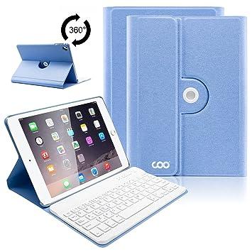COO Funda Teclado iPad 2018 (6th Gen)/iPad 2017/iPad Pro 9.7