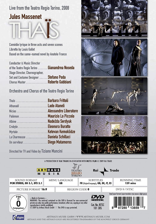Massenet, Jules - Thais (NTSC) [Alemania] [DVD]: Amazon.es ...