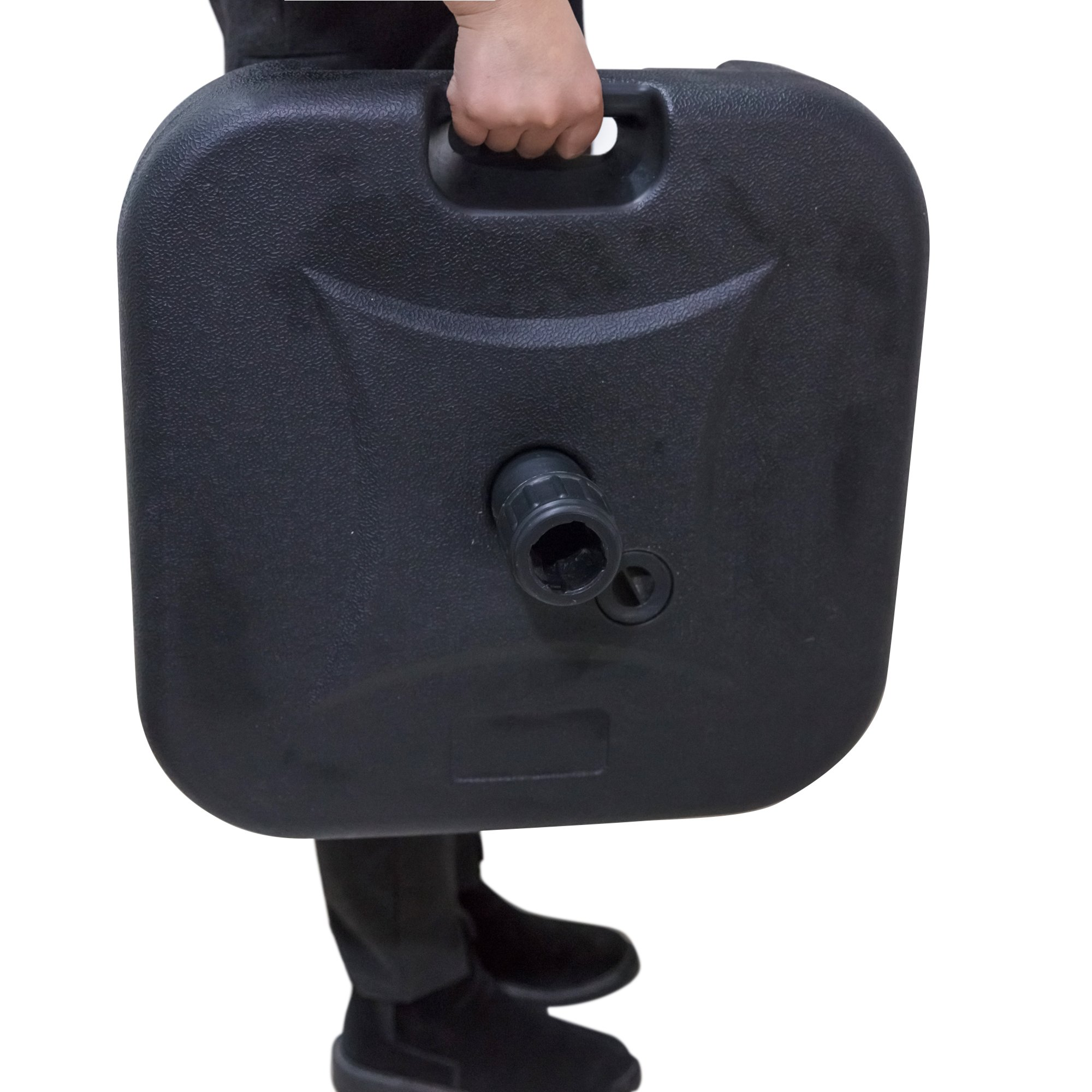California Patio Free Standing Market Umbrella Base - 40 lb.   Pound   19.5L
