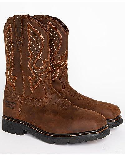 4cf4196d8f5 Amazon.com | Cody James Men's Waterproof Composite Toe Pull On Work ...
