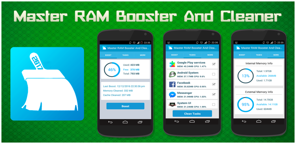 Master RAM Booster And Cleaner: Amazon.com.br: Amazon Appstore