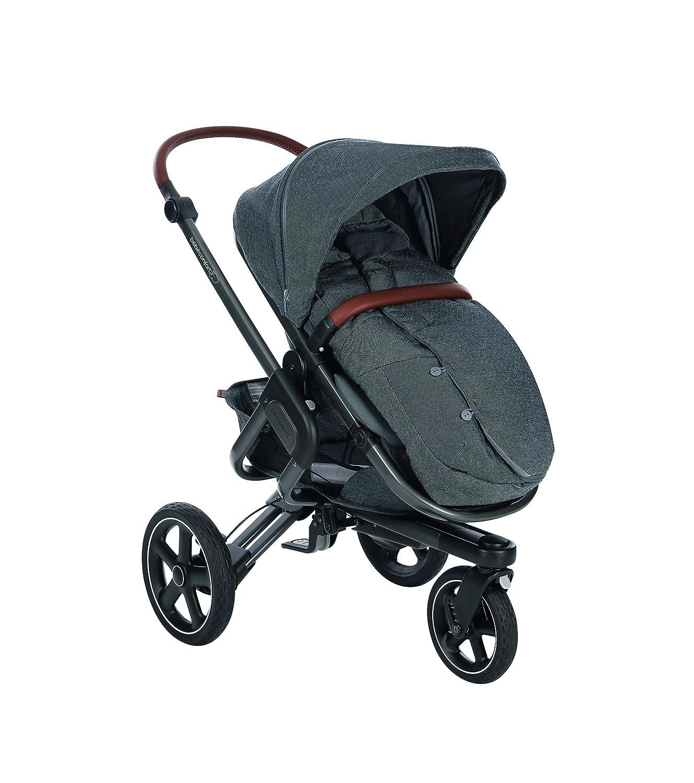 Bébé Confort SACO de abrigo Sparkling Grey - Saco de abrigo para cochecito, color gris oscuro: Amazon.es: Bebé