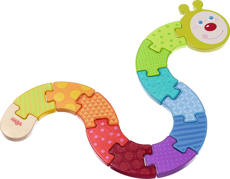 Haba 302578 – Juego de mesa. Arco iris de oruga, Puzzle de madera ...
