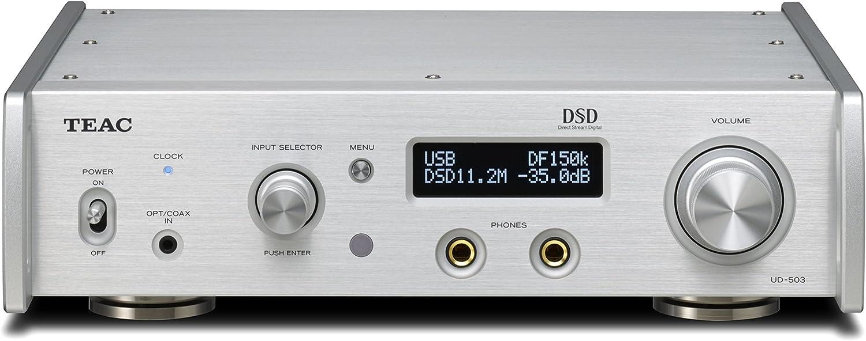 ティアック デュアルモノーラルUSB-DAC/ヘッドホンアンプ Reference UD-503 (シルバー) UD-503-S