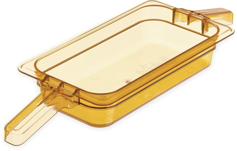 Carlisle 30860HH13 StorPlus High Heat Food Pan with 2 Handles, 2.5