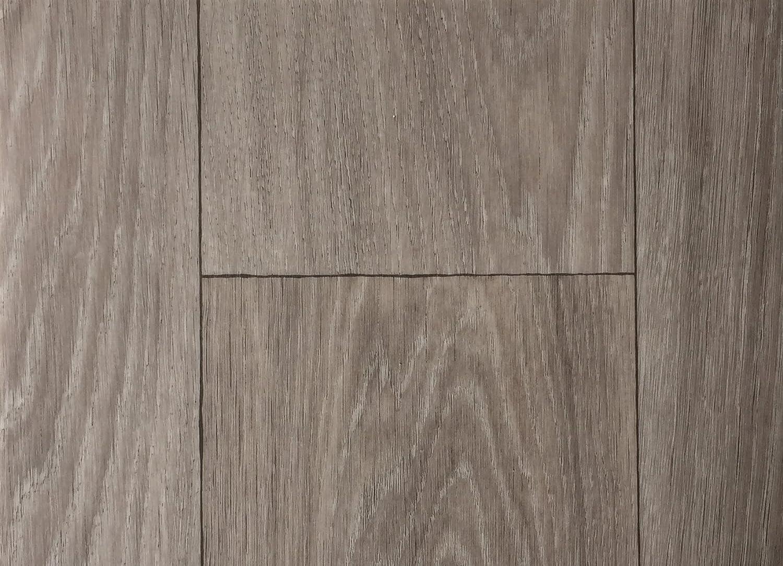 Vinylboden in 2m Breite /& 1m L/änge| Fu/ßbodenheizung geeignet e PVC Planken Stark strapazierf/ähiger Fu/ßboden-Belag Made in Germany PVC-Bodenbelag XL Holzdielenoptik Braun Strukturiert