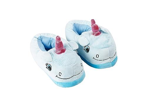 Hstyle Unisex Unicornio Zapatillas Caliente Adulto Encantador Zapatos De Inicio Loungewear Azul: Amazon.es: Zapatos y complementos