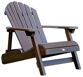 HIGHWOOD Folding and Reclining Adirondack Chair  sc 1 st  Amazon UK & HIGHWOOD Folding and Reclining Adirondack Chair: Amazon.co.uk ...