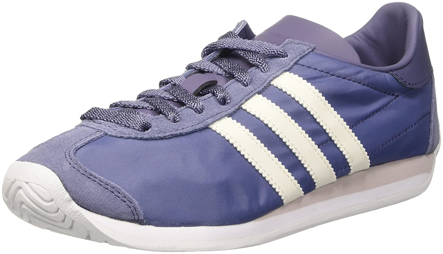 new style 9d2e9 1ad97 Amazon.com  adidas Originals Country Og Womens Trainers Sneakers Shoes (UK  4.5 US 6 EU 37 13, Purple Off White S32204)  Fashion Sneakers