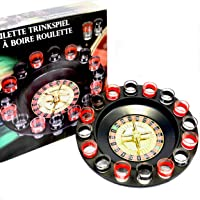 Toys4boys Juego Chupitos Ruleta, Drinking Roulette Set, Ruleta